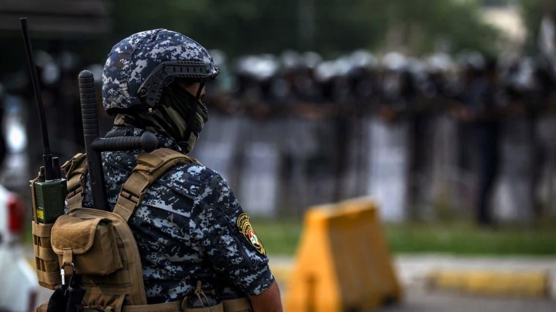 عنصر أمن عراقي في بغداد - فرانس برس