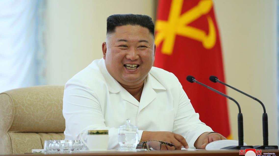 North Korean leader Kim Jong Un in this image released June 7, 2020 by North Korea's Korean Central News Agency. (KCNA via Reuters)