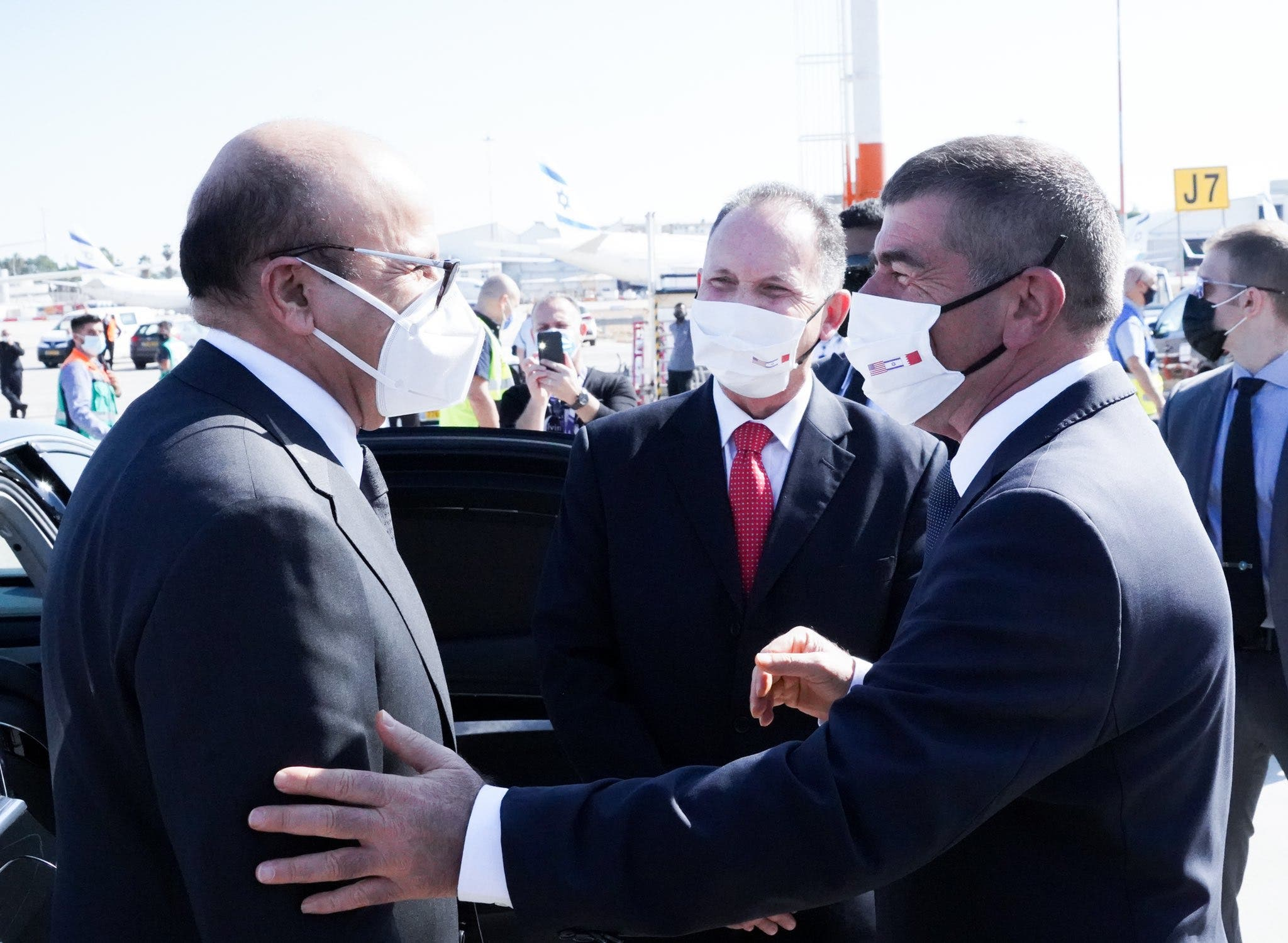 وصول الوفد البحريني إلى تل أبيب - 18 نوفمبر 2020