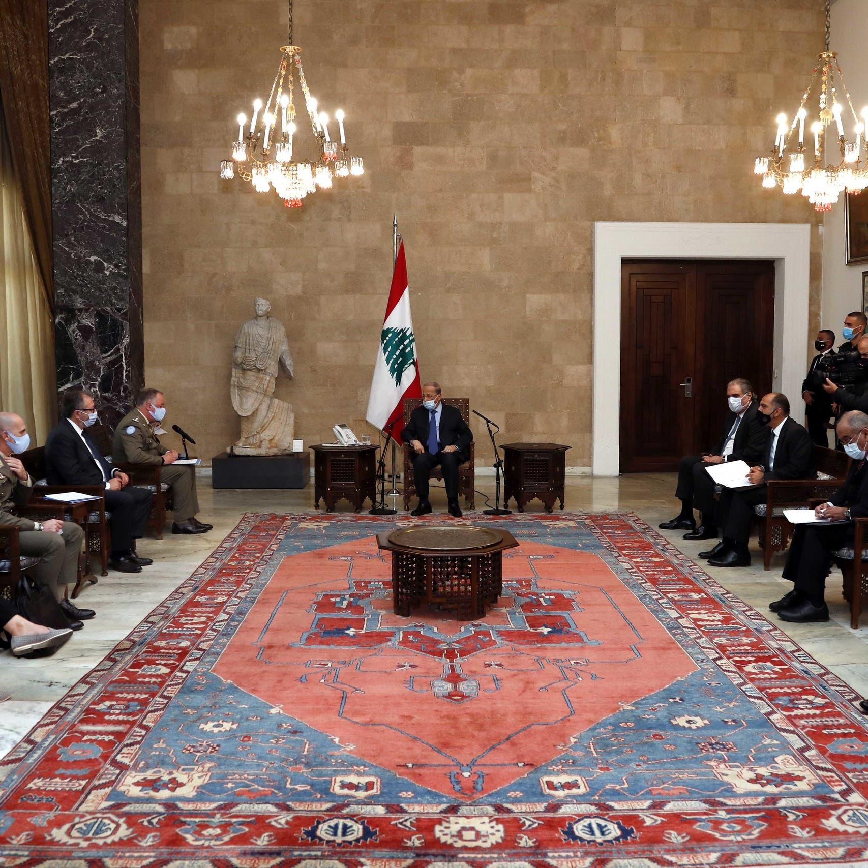 عون يحدد نقطة انطلاق مفاوضات الحدود ويوسّع الخلاف مع إسرائيل