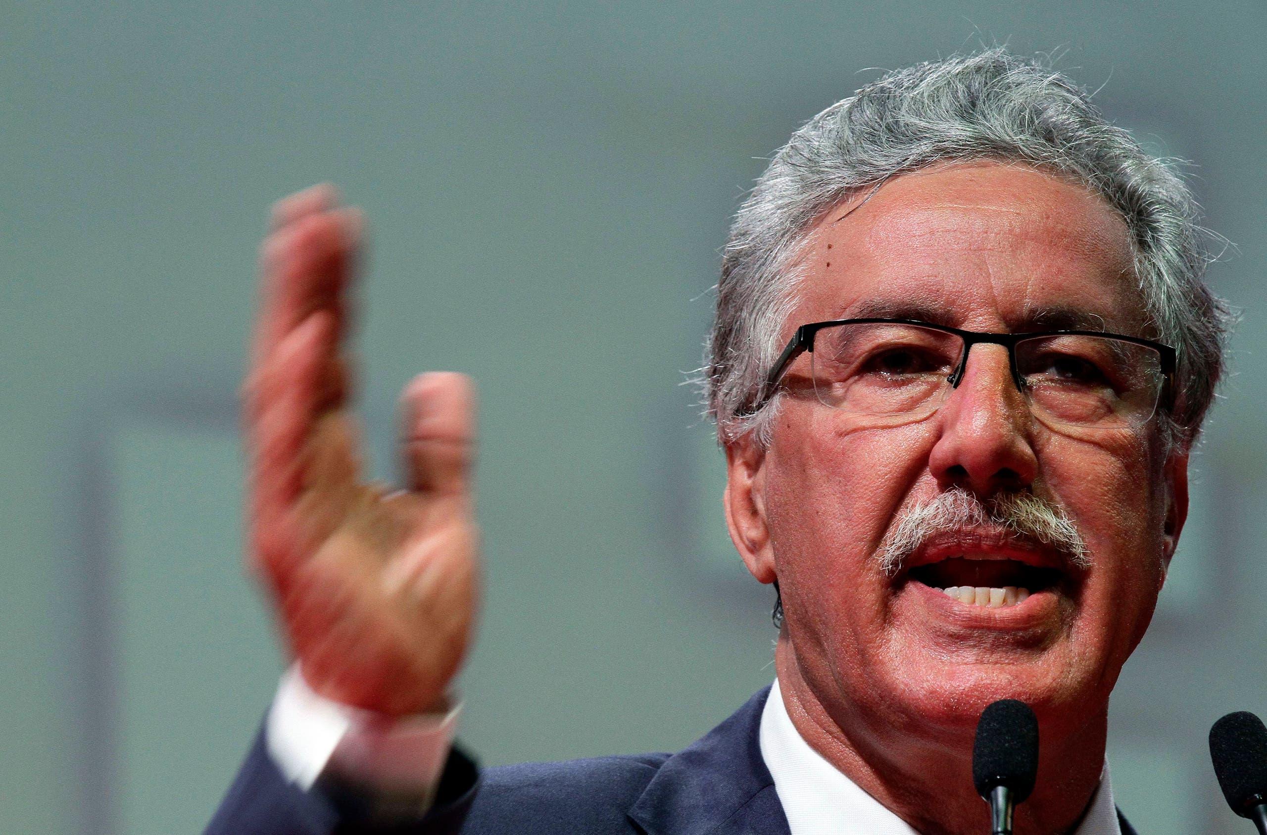 """رئيس """"حزب العمال التونسي"""" حَمة الهمّامي"""