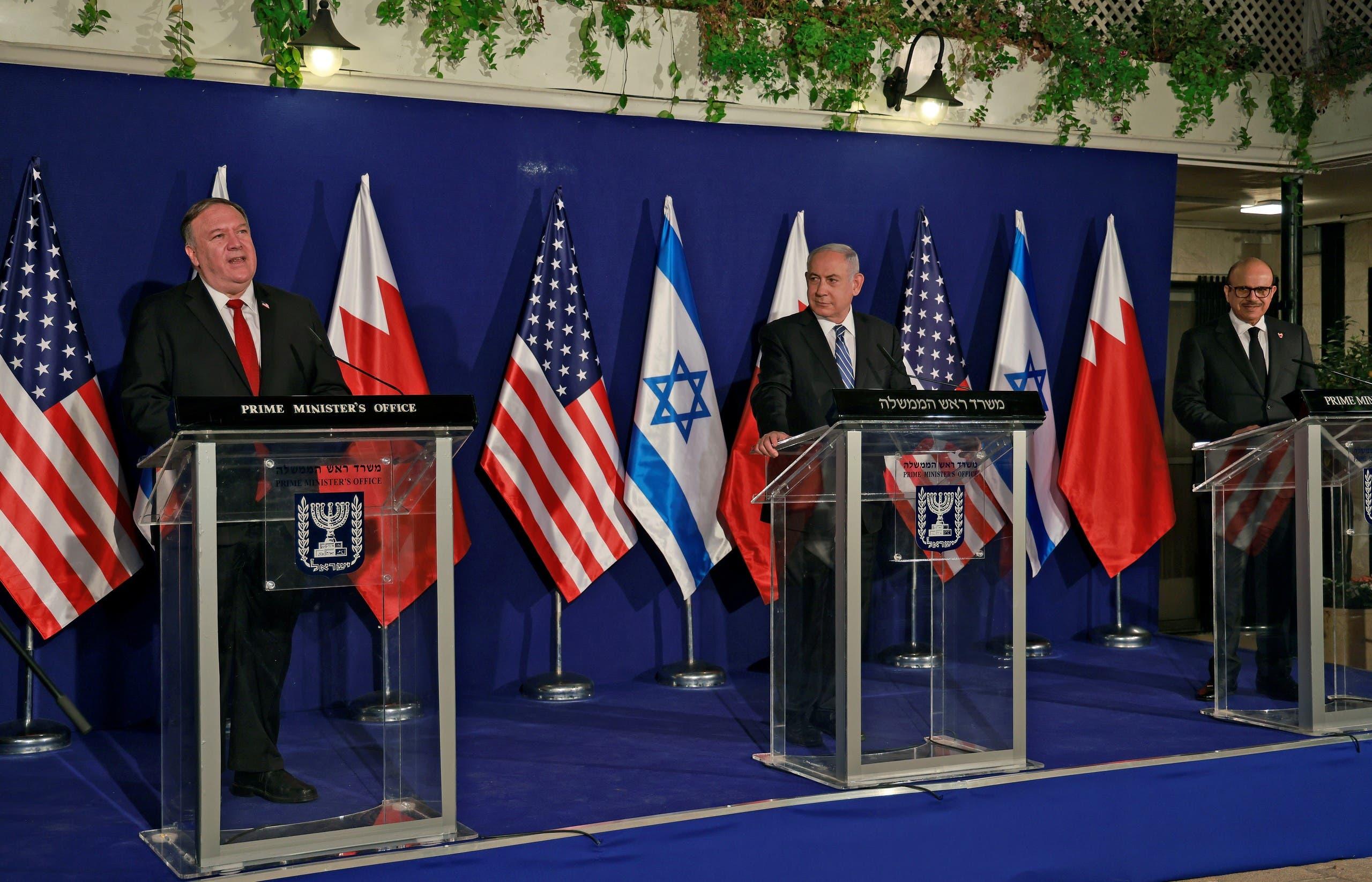 من مؤتمر بومبيو في القدس اليوم