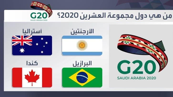من هي دول مجموعة العشرين 2020؟