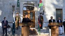 پاکستانی وزیر اعظم عمران خان کی افغان صدر سے ملاقات، افغان مفاہمتی عمل پر بات چیت