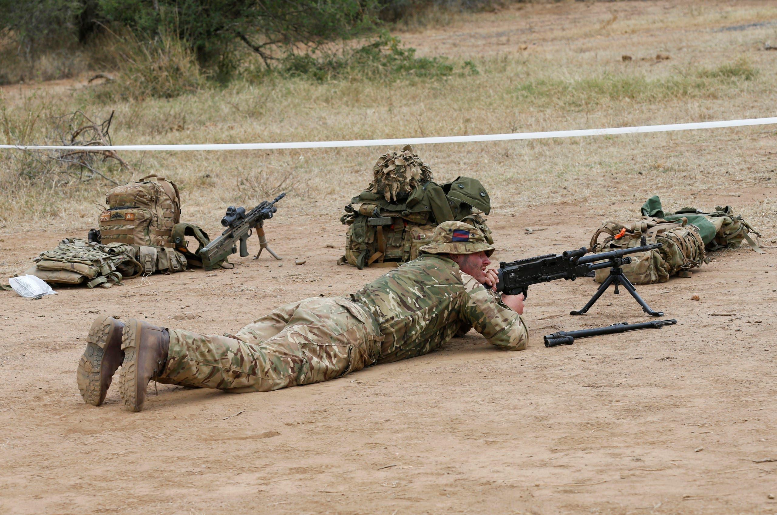 معسكر تمرين للجيش البريطاني في كينيا (أرشيفية)