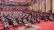 """القوات السعودية تشارك في مناورات """"سيف العرب 2020"""" في مصر"""
