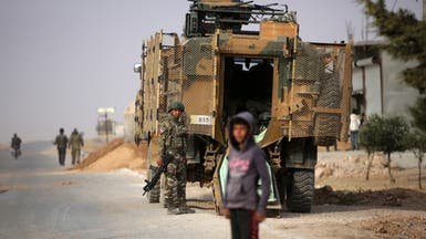 القوات التركية تقصف عين عيسى وتنشئ قاعدة في ريفها