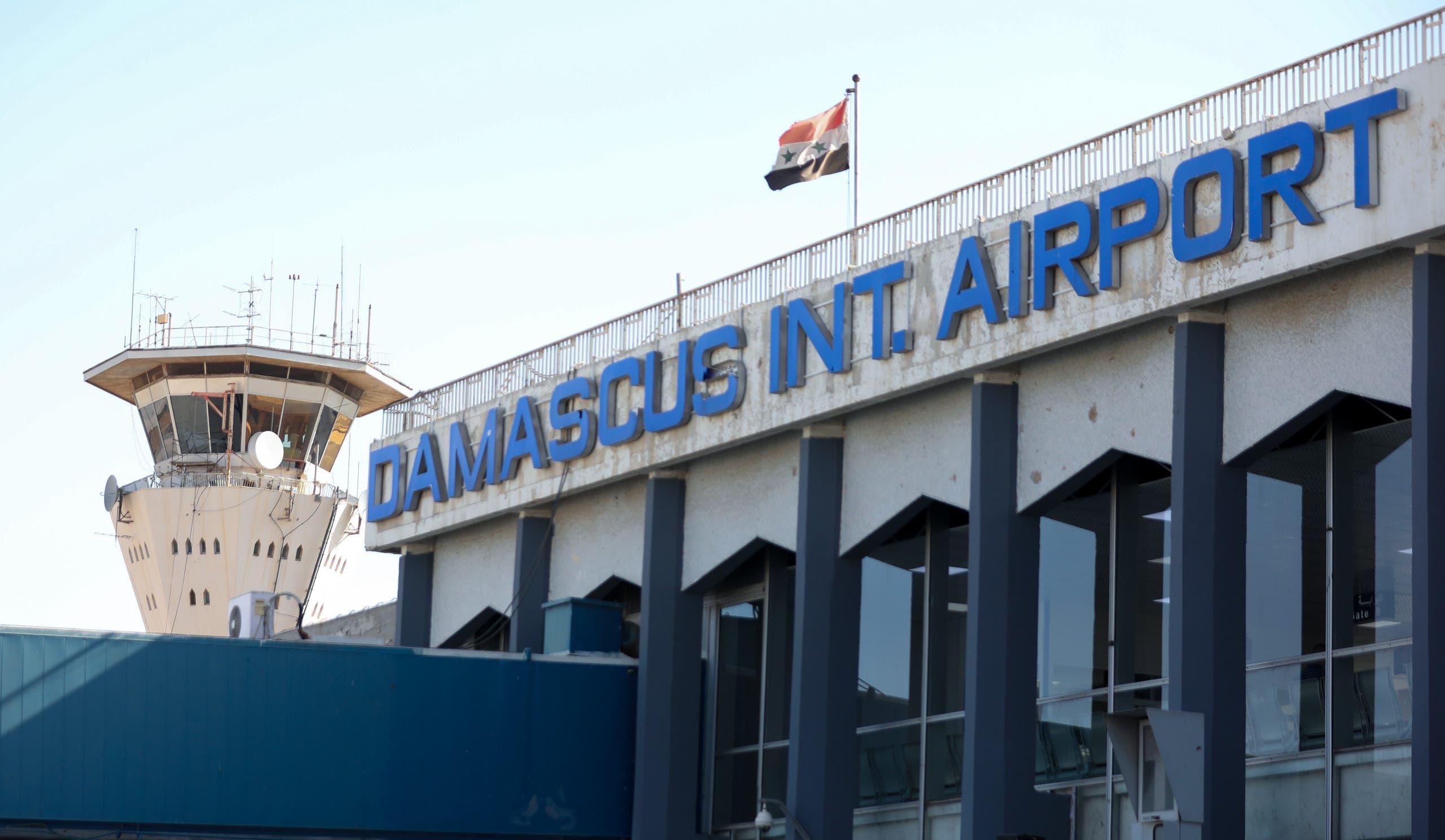 مطار دمشق الذي استهدفت فيه إسرائيل غرفة عمليات إيرانية