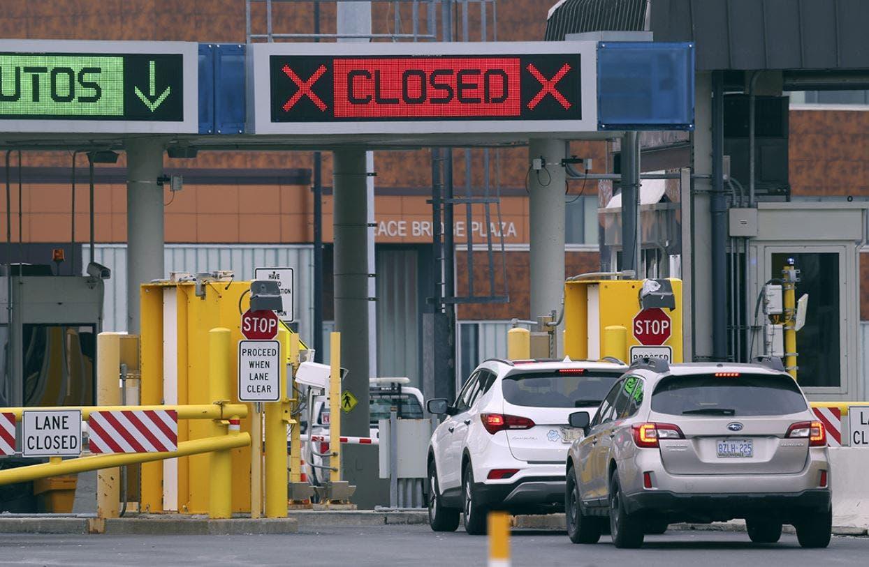 مرز کانادا با آمریکا