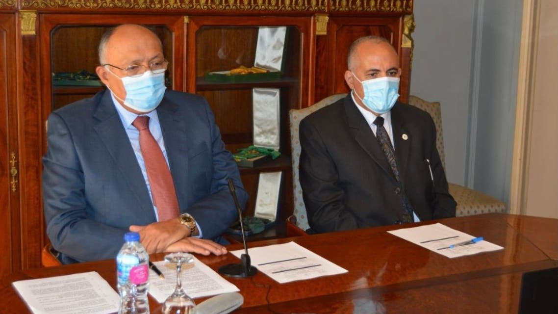 وزيري الخارجية والري المصريين في المفاوضات سد النهضة مصر 19 نوفمبر 2020