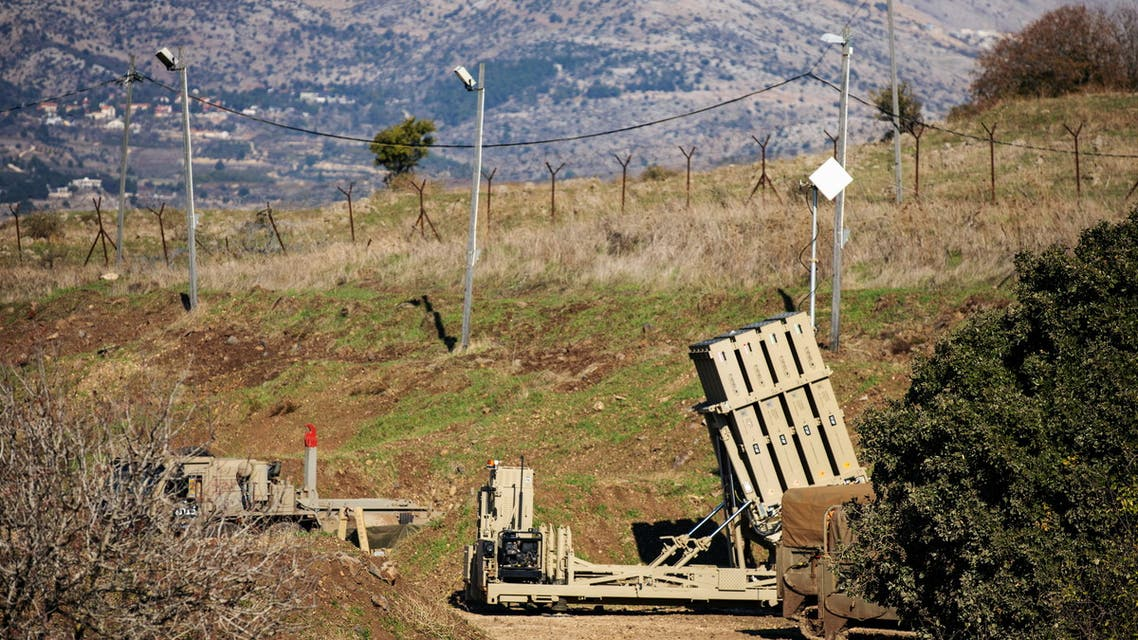 An Iron Dome anti-missile system is seen near the border area between Israel and Syria, in the Israeli-occupied Golan Heights November 18, 2020. REUTERS/Hamad Almakt
