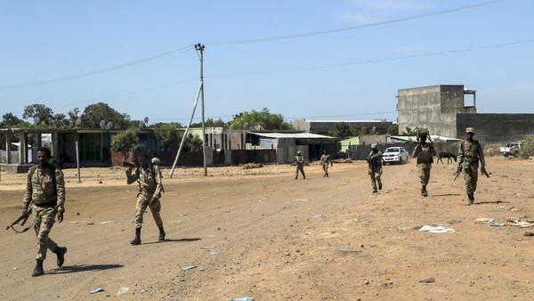 ایتھوپیا: ٹیگرائے فرنٹ سے مبینہ روابط کے شبے میں 76 فوجی افسر گرفتار