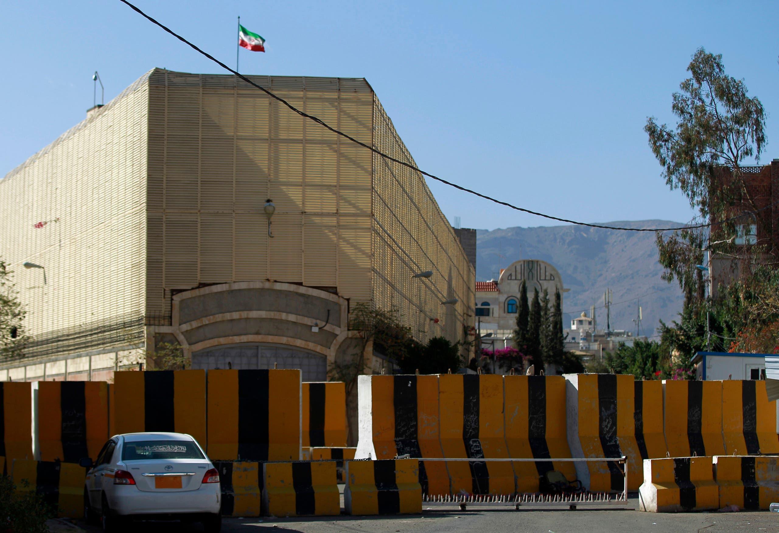 سفارة إيران في صنعاء (أرشيفية)