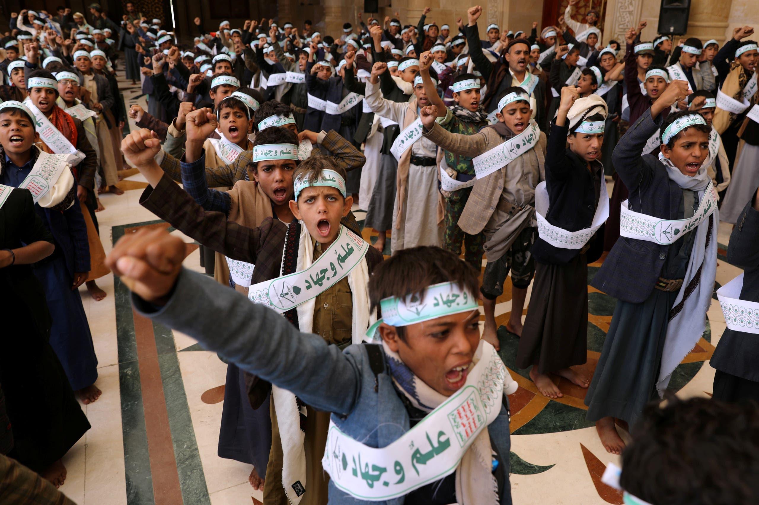 الحوثي تجند الأطفال