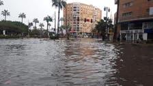 قتلى وجرحى وانهيار عقارات في موجة طقس سيئ بمصر