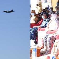 على وقع التوتر.. طائرات مصرية تحلق فوق النيل