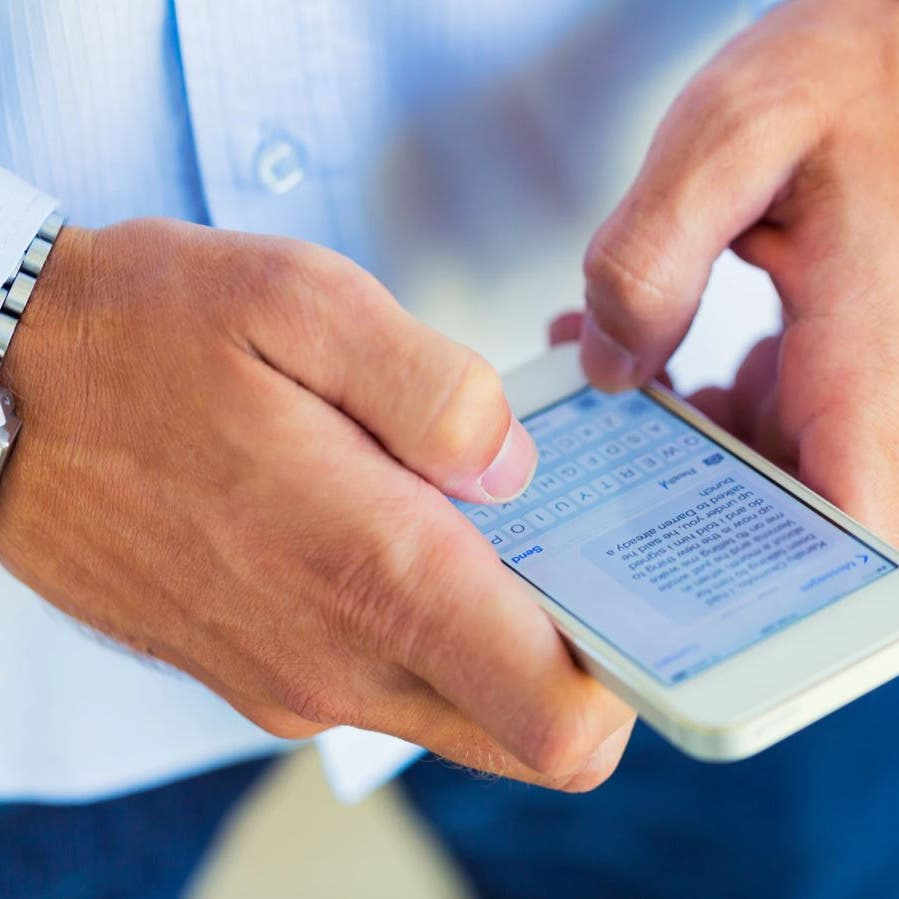 الكتابة على هاتف ذكي قد تكشف تطور أمراض الجهاز العصبي