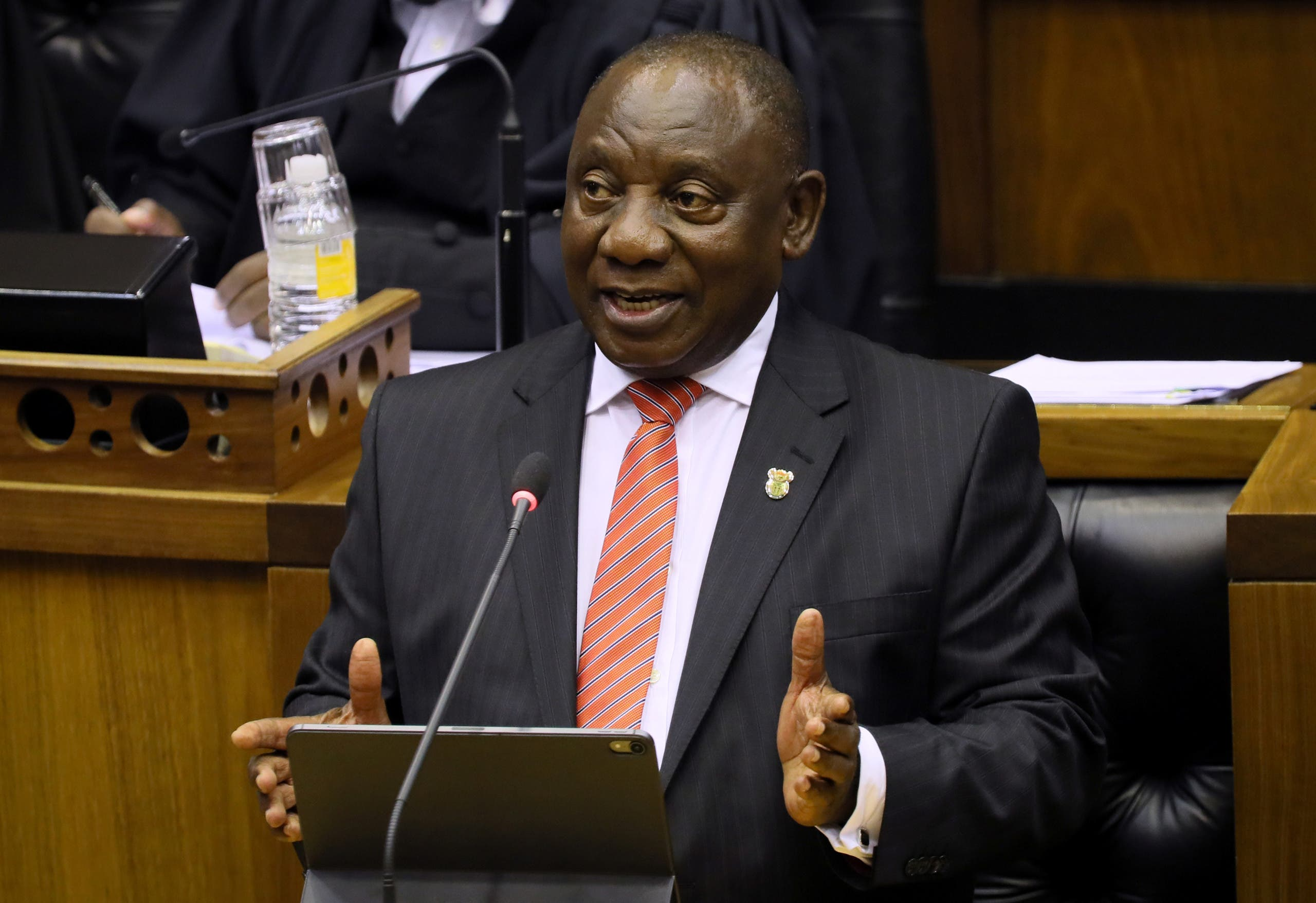 South African President Cyril Ramaphosa. (File photo: Reuters)