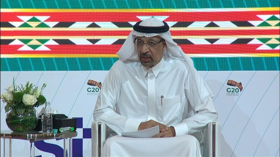 Saudi Arabia's Minister of Investment Khalid al-Falih