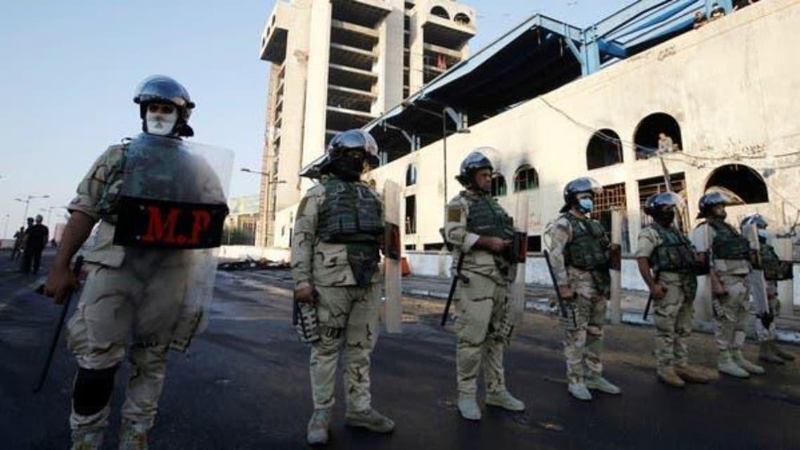 Iraqi Security Men