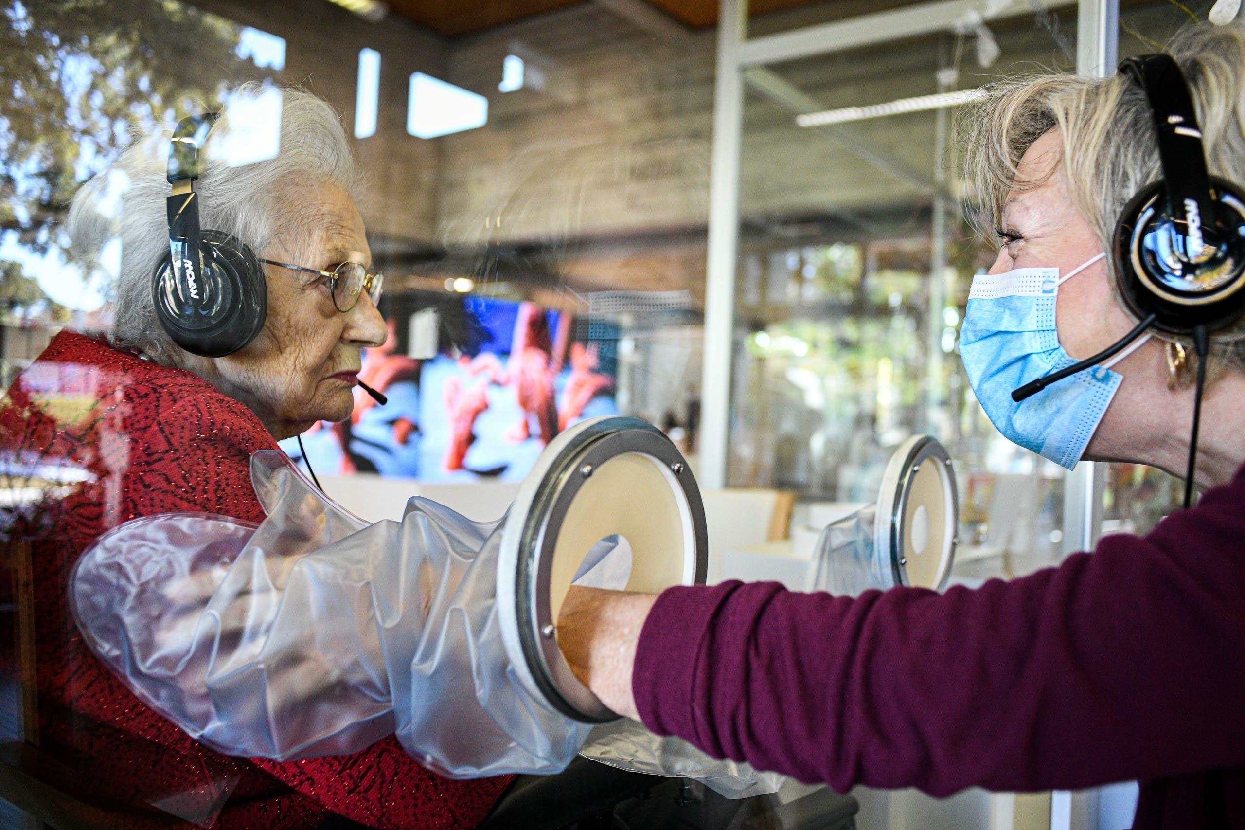 مأوى لكبار السن قرب البندقية يتخذ إجراءات لمكافحة كورونا عبر عزل قاطنيه عن الزوار