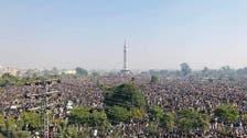 خادم حسین رضوی کی نماز جنازہ لاہور میں ادا، عوام کی بڑی تعداد میں شرکت