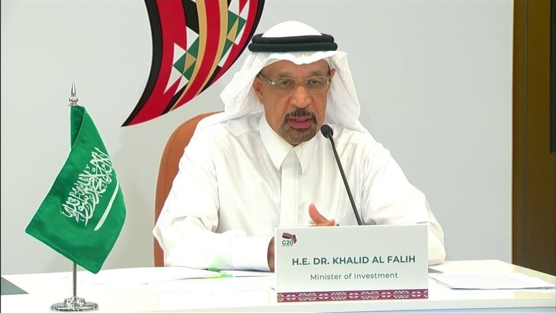 خالد الفالح وزیر سرمایهگذاری سعودی