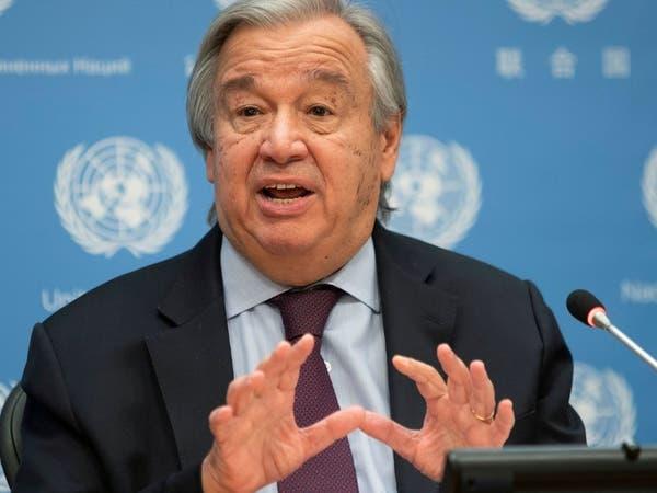 غوتيرش يأسف لغياب التضامن الدولي حول لقاحات كورونا