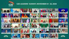"""صورة جماعية """"غير تقليدية"""" لقادة مجموعة الـ20"""