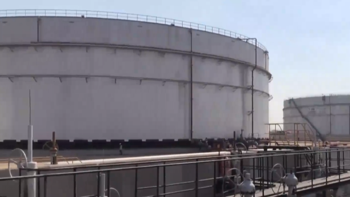 petroleum products distribution plant in the north of Jeddah city.