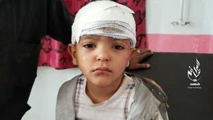 قصف حوثي على تعز يجرح امرأة وطفلين