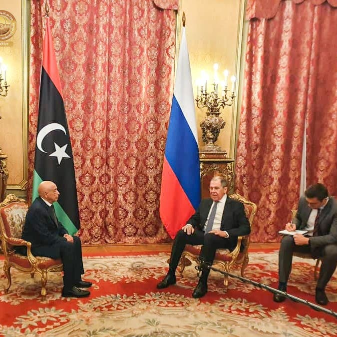 عقيلة صالح في روسيا واجتماع مرتقب في القاهرة لبحثأزمة ليبيا