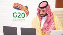 جونسون يهنئ الأمير محمد بن سلمان بنجاح قمة مجموعة العشرين