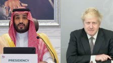 UK PM, Saudi Arabia's Crown Prince discuss global access to coronavirus vaccines