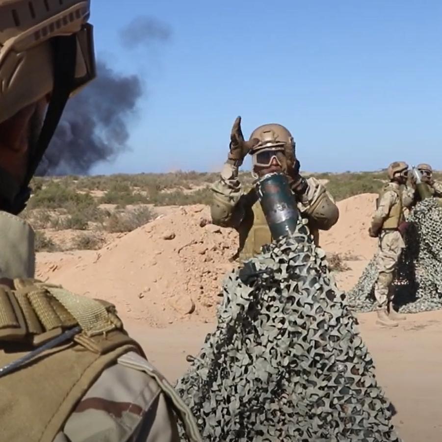 بنغازي.. الجيش الليبي ينفذ مناورات تحاكي هجوماً عسكرياً