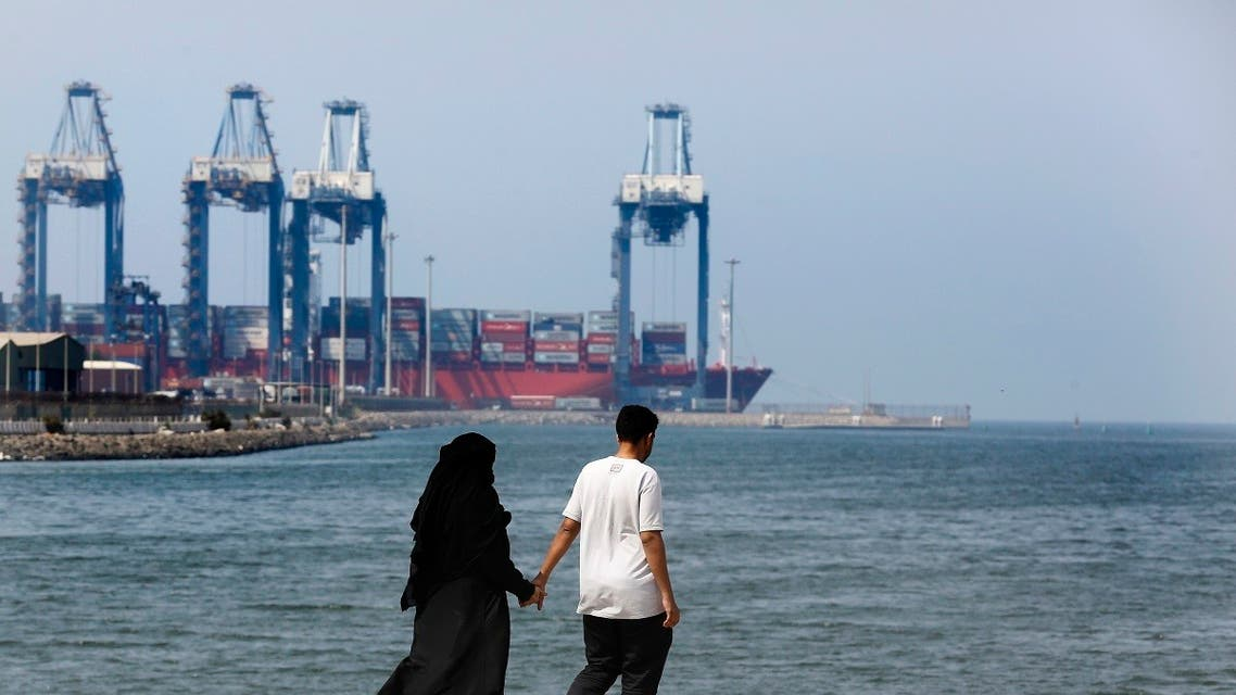 File photo of the Red Sea port city of Jeddah, Saudi Arabia. (AP)