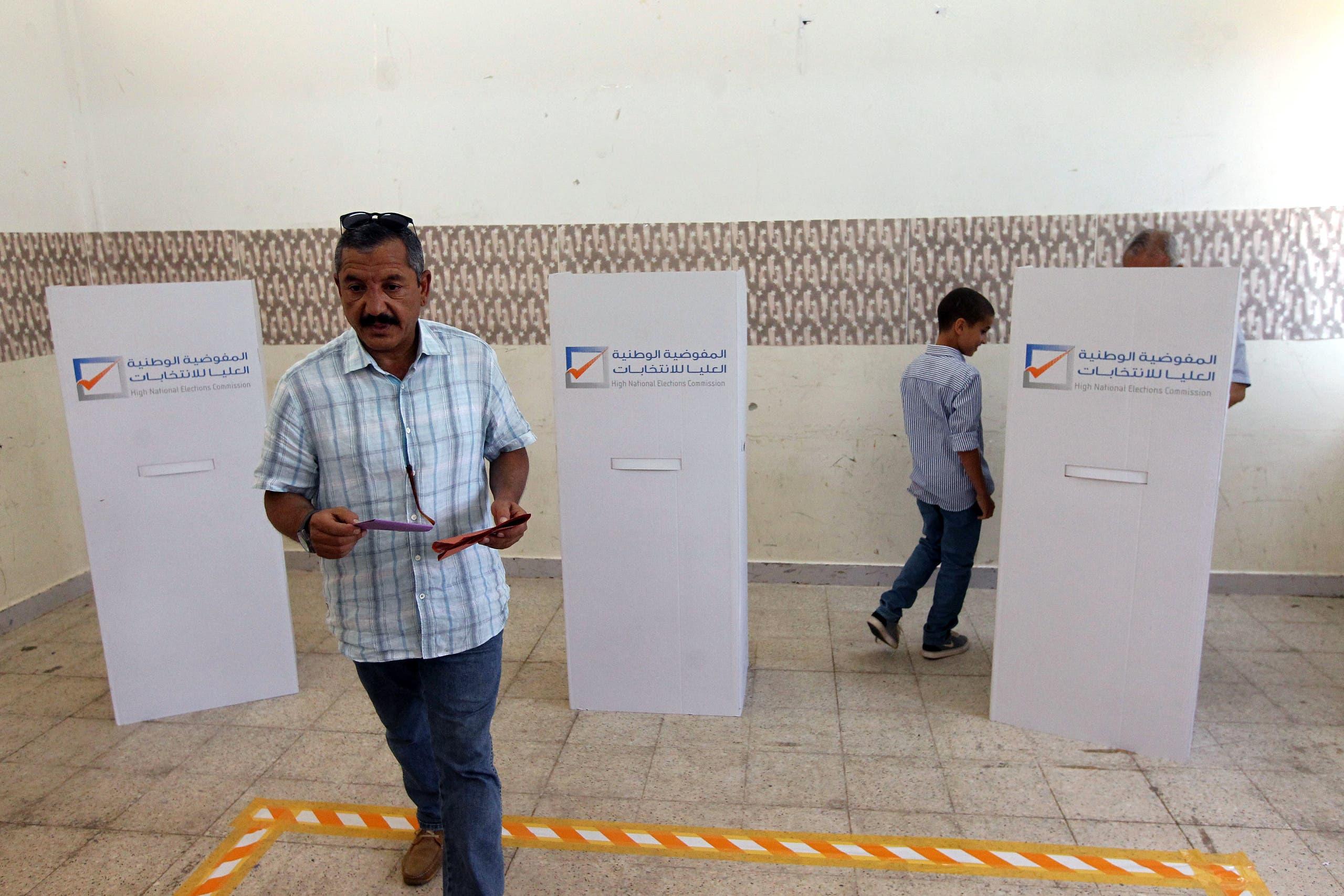 من آخر انتخابات تشريعية شهدتها ليبيا في يونيو 2014