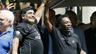 پله درگذشت مارادونا را تسلیت گفت