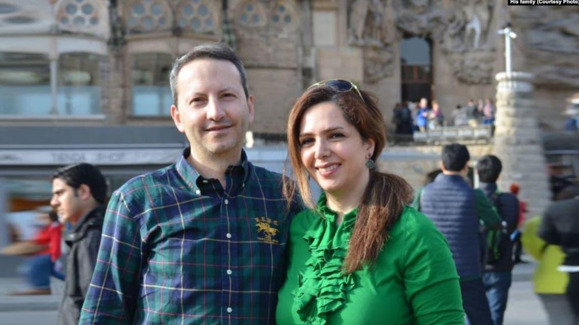 أحمد رضا جلالي وزوجته ويدا مهران نيا