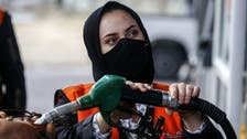 Gaza's first female gas station attendant challenges tradition