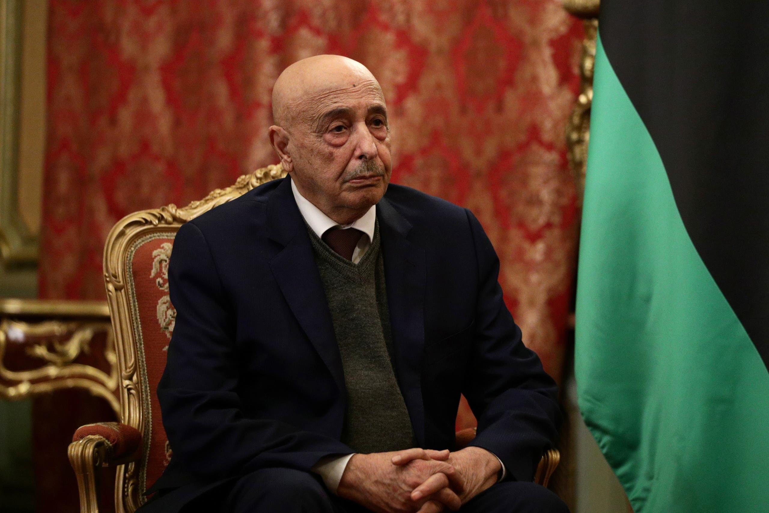 رئيس البرلمان عقيلة صالح (أرشيفية)