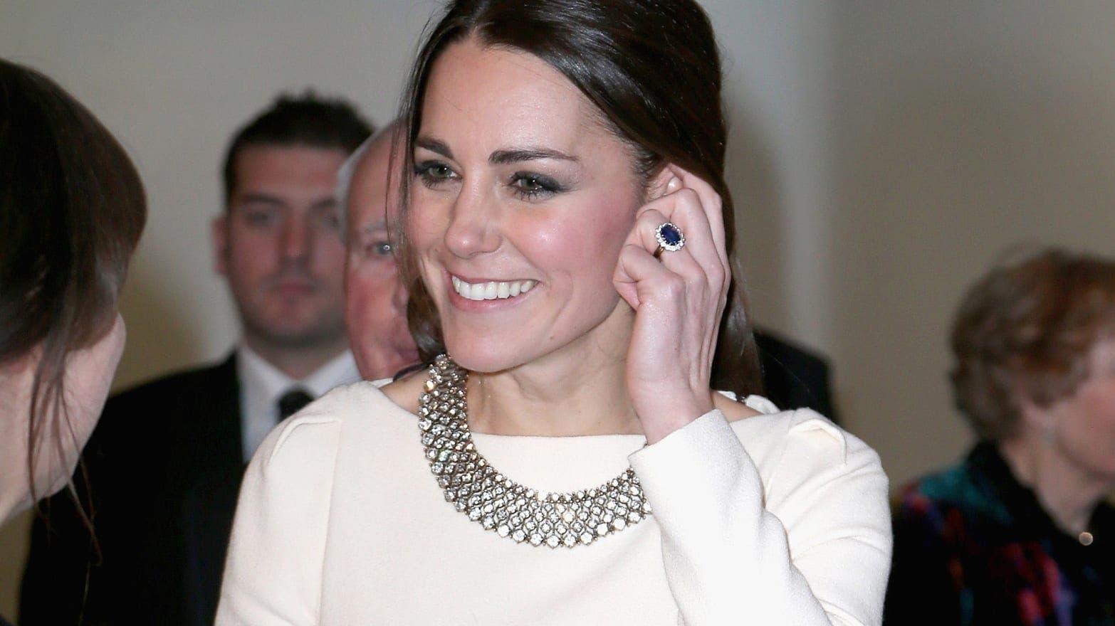 كايت مدلتون ترتدي أشهر خاتم خطوبة عبر التاريخ