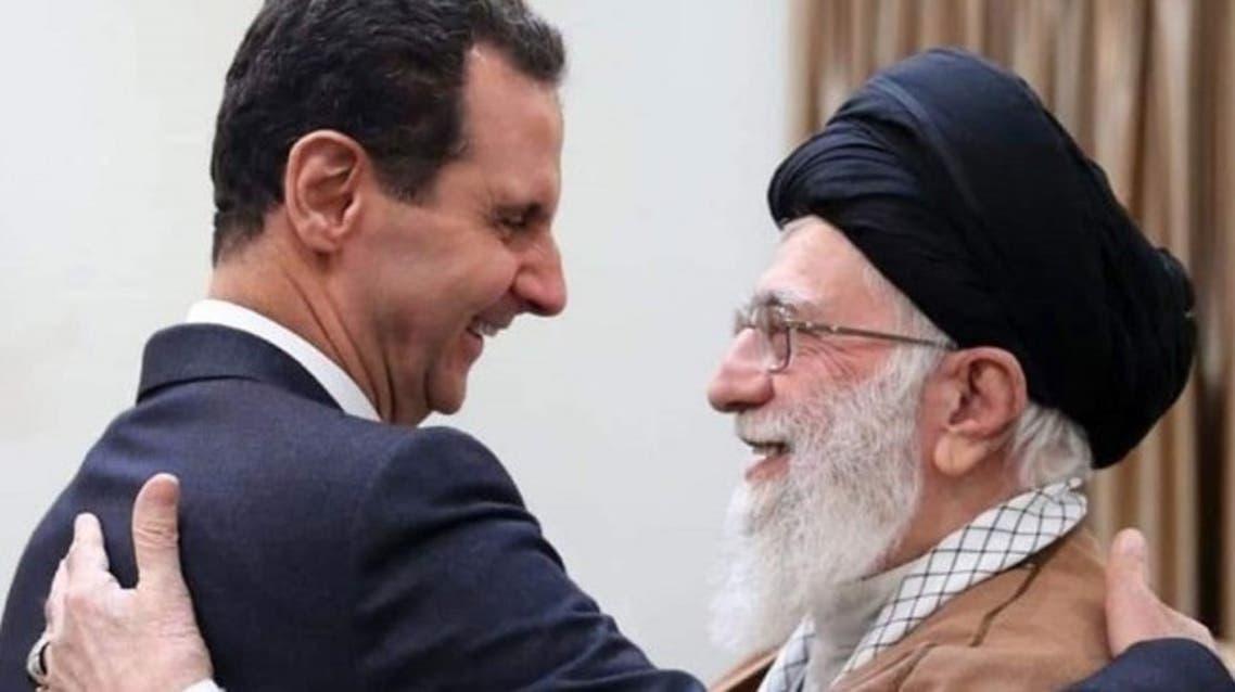 خامنئي والأسد