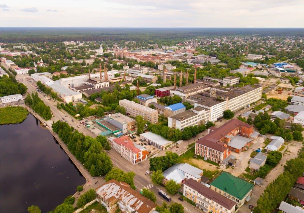 إحدى مدن مقاطعة فلاديمير الروسية (أرشيفية)
