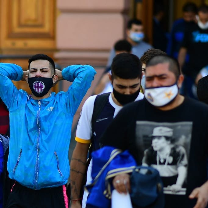 دموع وحسرة.. شاهد الأرجنتين تودع ساحر الكرة وأسطورتها