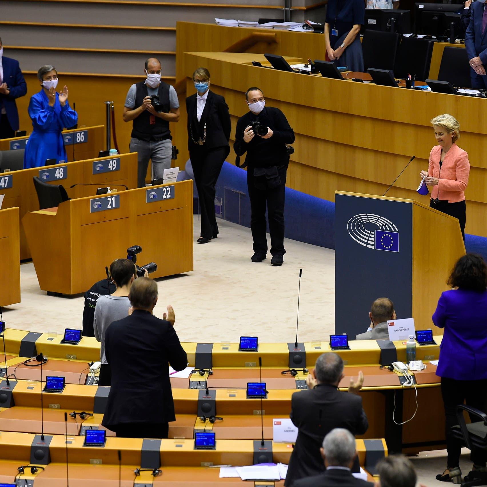 بالأغلبية المطلقة.. نواب أوروبا يصوتون على إدانة تركيا