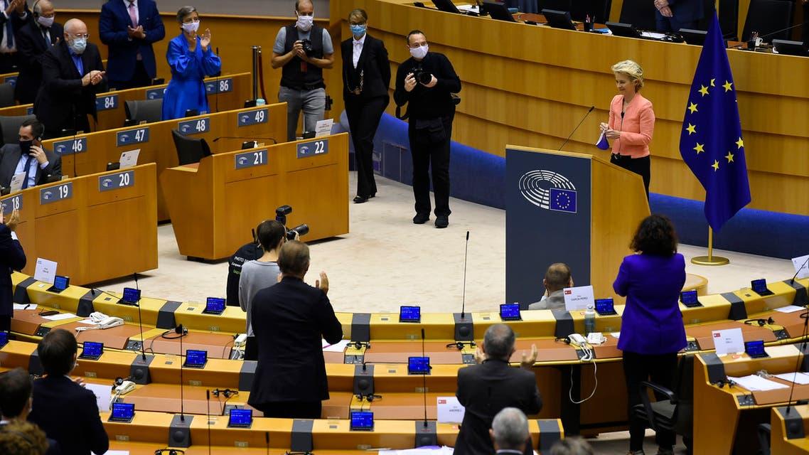 من البرلمان الأوروبي(أرشيفية- فرانس برس)