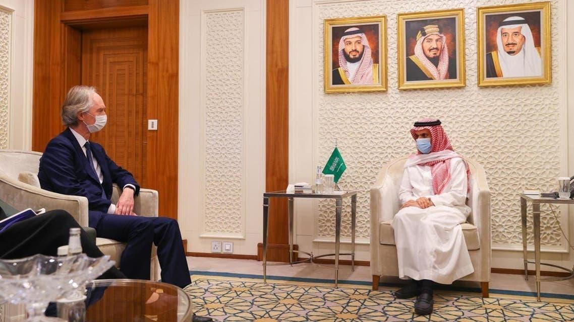 سعودی عرب اور اقوام متحدہ کی شام پر ملاقات