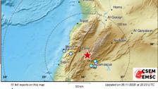 4.4 magnitude earthquake strikes near Lebanon-Syria border, reports EMSC