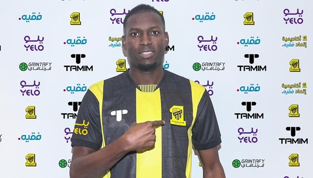 عمر هوساوي بقميص اتحاد جدة